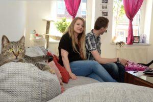 Zu Besuch bei Ramona & Sebastian in Leipzig-Möckern (Foto: Regina Katzer)