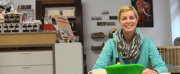 Blick in die Selbermachwerkstatt (Foto: Regina Katzer)