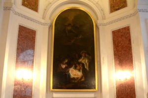 Darstellung der Geburt Christi von Adam Friedrich Oeser in der Nikolaikirche (Foto: Regina Katzer)