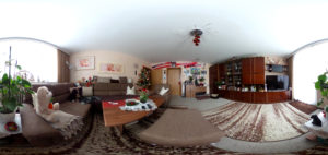 Wohnzimmer-Panorama (Foto: Regina Katzer)