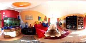 Wohnzimmer-Panorama