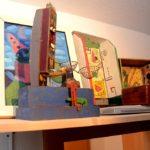 Kunst im Hochhaus (Foto: Regina Katzer)
