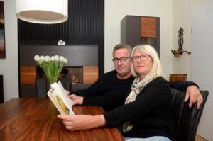 Hausbesuch bei Dagmar und Dieter (Foto: Regina Katzer)