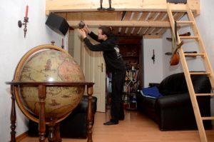 Hausbesuch bei Franz (Foto: Regina Katzer)