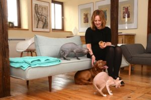 Hausbesuch bei Familie Mumm (Foto: Regina Katzer)