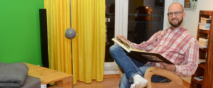Hausbesuch bei Thilo (Foto: Regina Katzer)