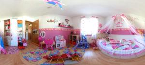 Kinderzimmer in 360 Grad (Foto: Regina Katzer)