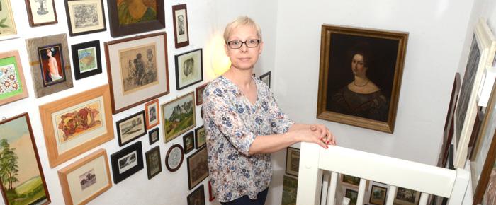 Hausbesuch bei Catherine Scholz (Foto: Regina Katzer)