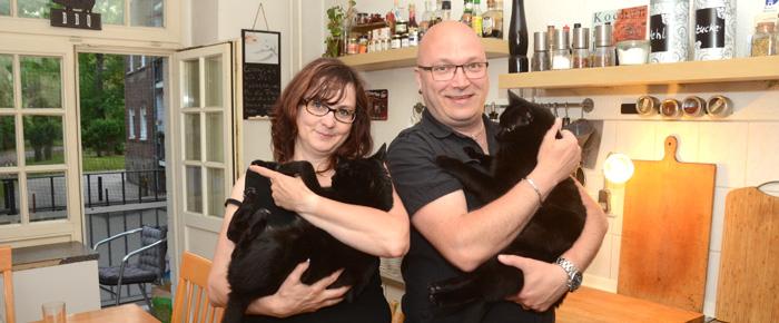 Willkommen bei Conny und Daniel in Kleinzschocher (Foto: Regina Katzer)