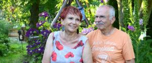 Zu Gast bei Karin und Bernd Ullmann (Foto: Regina Katzer)