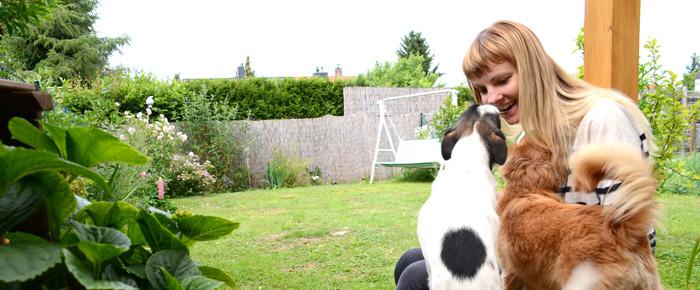 Katja und ihre Lieblinge (Foto: Regina Katzer)