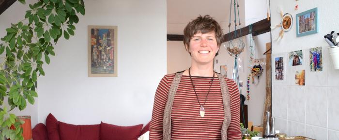 Hausbesuch bei Maria Franke (Foto: Regina Katzer)
