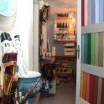 Hausbesuch im Kreidezauber bei Anja Krabbes (Foto: Regina Katzer)