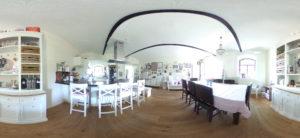 Landhauskueche in 360 Grad