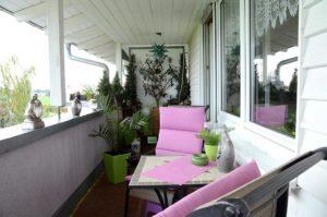 Hausbesuch bei Christina in Lindenthal (Foto: Regina Katzer)