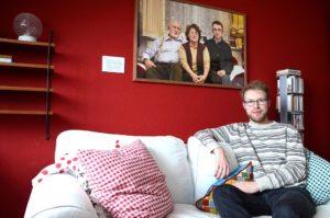 Hausbesuch bei Christoph (Foto: Regina Katzer)