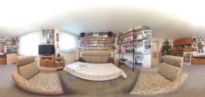 Panorama aus der Wohnstube