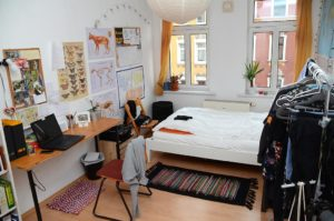 Hausbesuch bei Clara und Christian in Reudnitz (Foto: Regina Katzer)