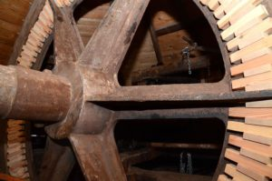 Blick ins Herzstück der Mühle (Foto: Regina Katzer)