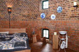 Blick in die Lindenthaler Mühle - Schlafzimmer (Foto: Regina Katzer)