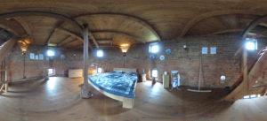 Schlafzimmer in 360 Grad