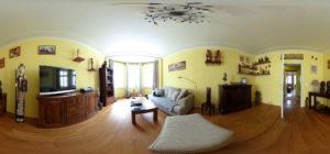 Panorama-Wohnzimmer