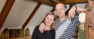 Hausbesuch bei Britta und Marco in Lindennaundorf (Foto: Regina Katzer)