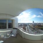 Panorama aus dem 13. Stockwerk