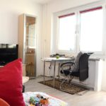 Hausbesuch im Wintergartenhochhaus (Foto: Regina Katzer)