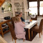 Hausbesuch bei Jana und Uwe (Foto: Regina Katzer)