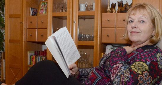 Hausbesuch bei Eva Barfuß (Foto: Regina Katzer)