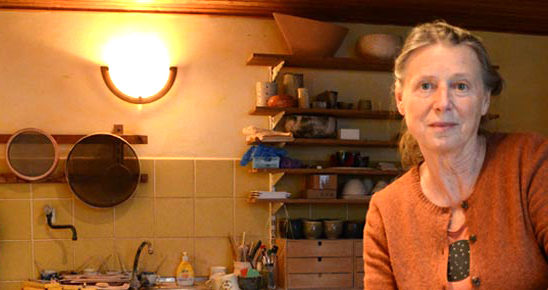 Hausbesuch bei Keramikerin Marie Helbig (Foto: Regina Katzer)