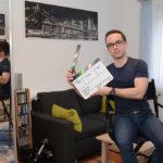 Hausbesuch bei Stephan in Grünau (Foto: Regina Katzer)